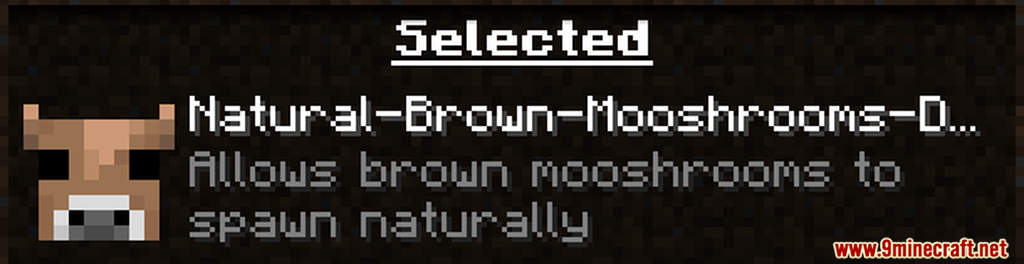 Natural Brown Mooshrooms Data Pack Screenshots (1)