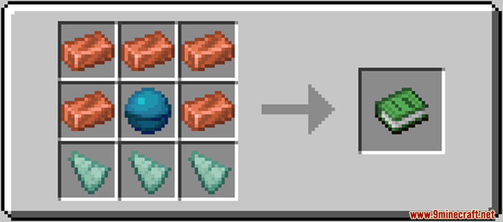 Ocean Additions Data Pack Crafting Recipes