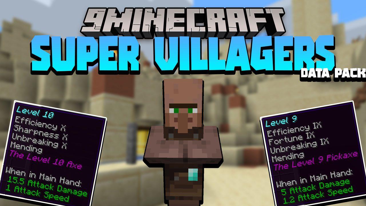 Super Villagers Data Pack Thumbnail
