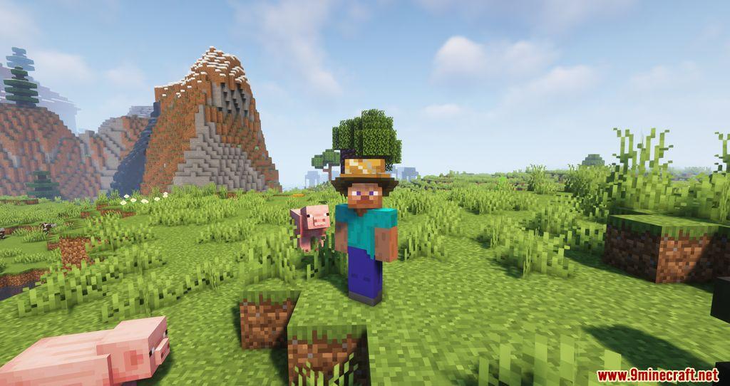 Tailored Hats Ocean Wears resourcepacks screenshots 07