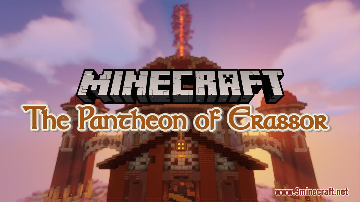 The Pantheon of Erassor Map