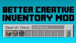 Better-Creative-Inventory-Mod
