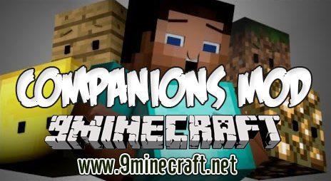 companions mod 1 7 10 9minecraft net