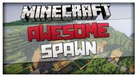 Cool-spawn-with-village-seed