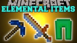 Elemental-Items-Mod