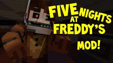 Fnaf mod 1 7 10 minecraft mods