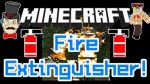 Fire Extinguisher Mod 1.7.10/1.7.2/1.5.2