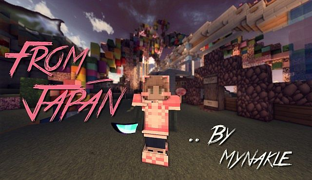 Japan Resource Pack 9minecraft Net