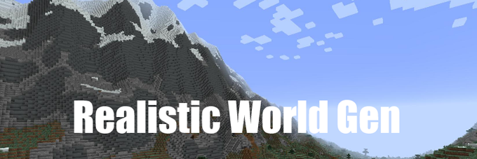 Realistic world gen mod 1710 9minecraft gumiabroncs Image collections