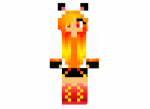 Remade Fire Cat Skin